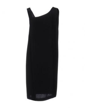 Платье до колена ATTIC AND BARN. Цвет: черный