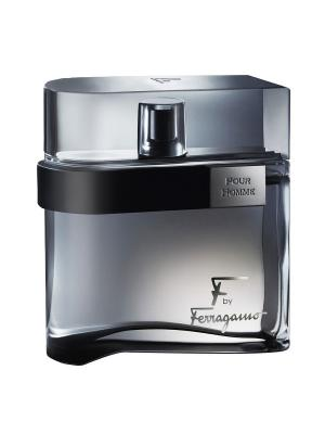 Salvatore Ferragamo F by Homme Black 50ml EDT. Цвет: черный