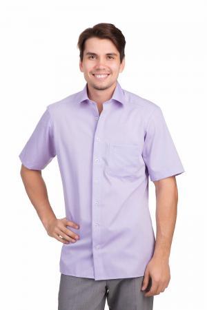 Рубашка с коротким рукавом Marvelis. Цвет: сиреневый