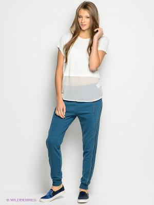 Брюки Vero moda. Цвет: синий