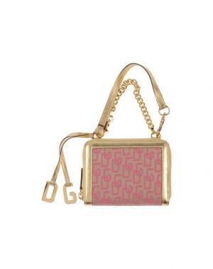 Бумажник DOLCE & GABBANA. Цвет: фуксия