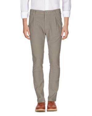 Повседневные брюки JCOLOR. Цвет: хаки