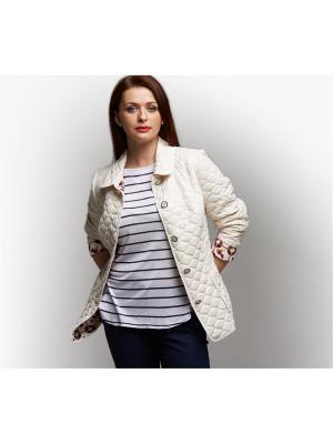 Летняя куртка Бриз Notte Bianca. Цвет: молочный
