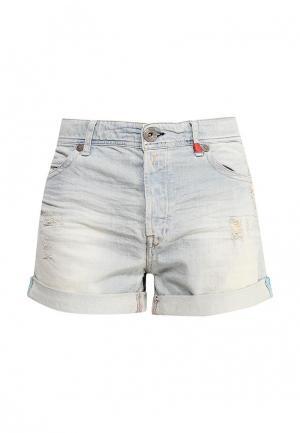Шорты джинсовые Replay. Цвет: голубой
