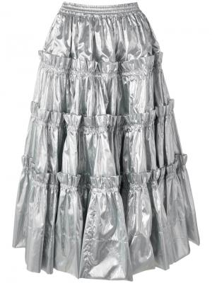 Party skirt Molly Goddard. Цвет: металлический