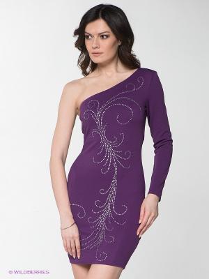 Платье Goddess London. Цвет: фиолетовый