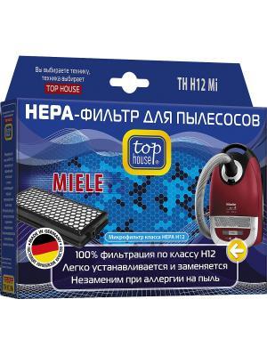 Top house TH H12Mi HEPA-фильтр для пылесосов MIELE. Цвет: синий