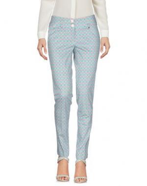 Повседневные брюки KITTE. Цвет: бирюзовый