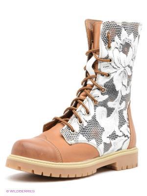 Ботинки WAYKO. Цвет: коричневый