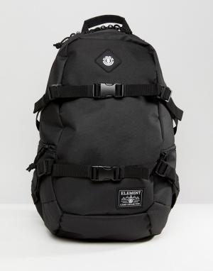 Element Черный рюкзак Jaywalker. Цвет: черный