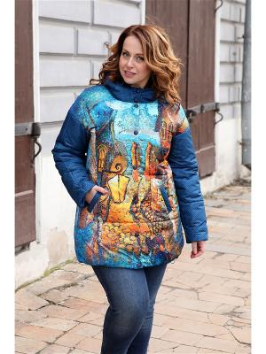 Куртка ДушеГрея. Цвет: темно-синий