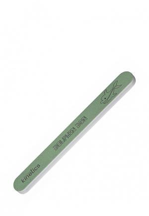 Пилка для ногтей Kinetics. Цвет: зеленый