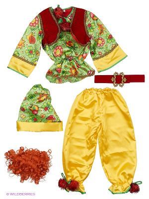 Карнавальный костюм Гномик сказочный Батик. Цвет: прозрачный