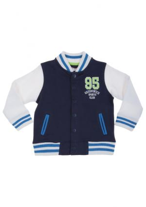 Куртка MINOTI. Цвет: серый (серый/синий), синий (синий/белый)