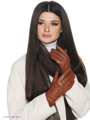 Перчатки Isotoner. Цвет: светло-коричневый