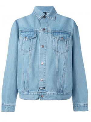 Джинсовая куртка New Wave Les (Art)Ists. Цвет: синий