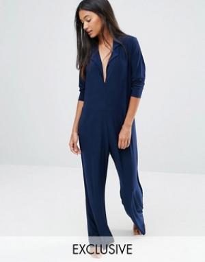 Moonchild Комбинезон-пижама. Цвет: темно-синий