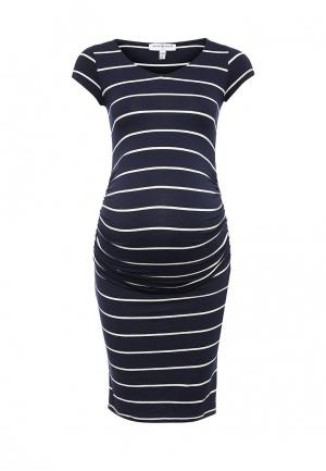 Платье Envie de Fraise. Цвет: синий