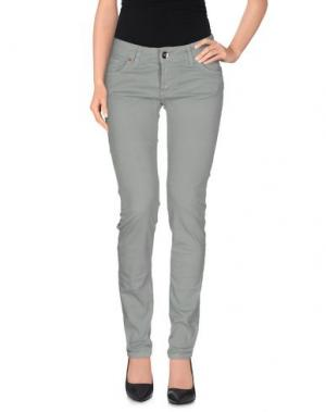 Повседневные брюки LIST. Цвет: зеленый-милитари