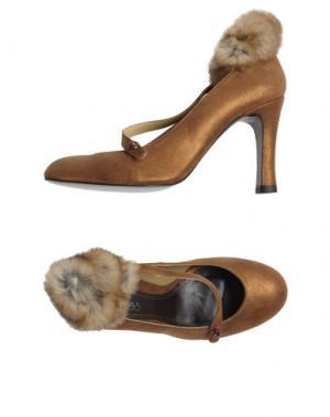 Туфли MALOLES. Цвет: коричневый
