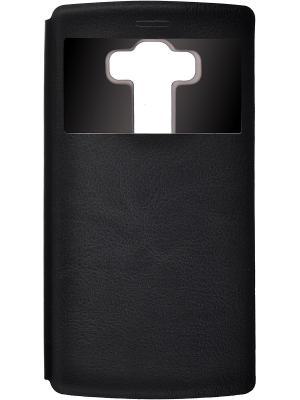Кейс-книжка для LG G4S skinBOX. Цвет: черный
