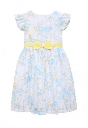 Платье Molly Rou. Цвет: голубой