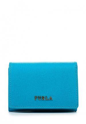 Кошелек Furla. Цвет: голубой