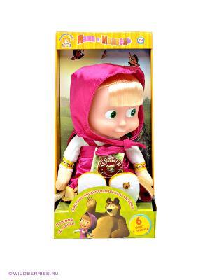 Мягкая игрушка Маша, 29 см. Мульти-пульти. Цвет: фуксия