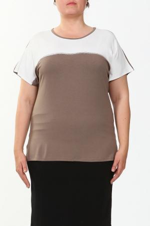 Блузка HEY. Цвет: какао