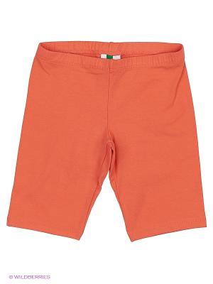 Бермуды United Colors of Benetton. Цвет: коралловый, оранжевый, бронзовый