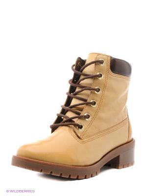 Ботинки Ridlstep. Цвет: желтый