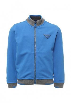 Олимпийка Armani Junior. Цвет: синий