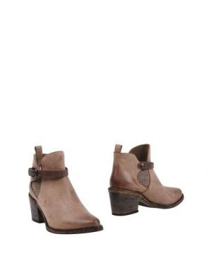 Полусапоги и высокие ботинки HENRY BEGUELIN. Цвет: хаки
