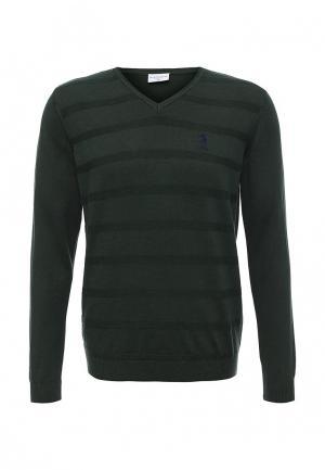 Пуловер U.S. Polo Assn.. Цвет: зеленый