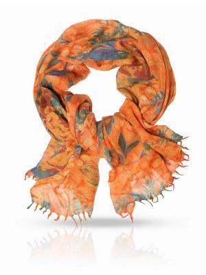 Палантин MICHEL KATANA`. Цвет: оранжевый