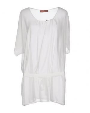 Блузка AGATHA CRI. Цвет: белый