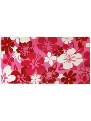 Полотенце BONITA. Цвет: красный, розовый, белый