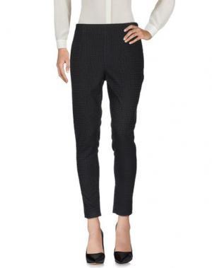 Повседневные брюки CORTE dei GONZAGA. Цвет: черный