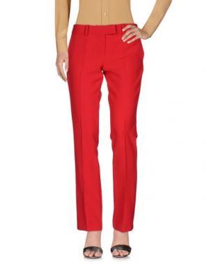 Повседневные брюки NORA BARTH. Цвет: красный