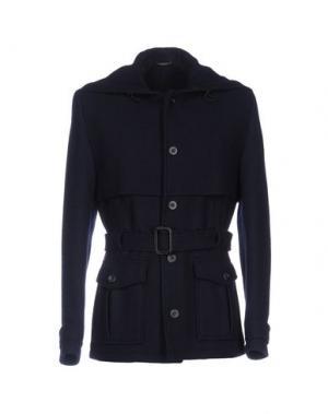 Куртка DANIELE ALESSANDRINI. Цвет: темно-синий