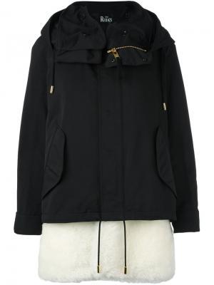 Стеганая куртка The Reracs. Цвет: чёрный