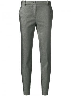 Fitted tailored trousers Kiltie. Цвет: серый