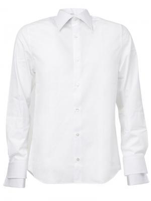 Рубашка с многослойными манжетами Faith Connexion. Цвет: белый