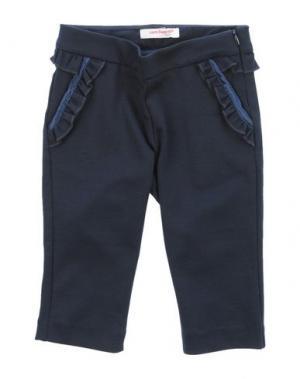 Повседневные брюки LAURA BIAGIOTTI BABY. Цвет: темно-синий