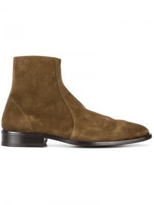 Ботинки по щиколотку с заостренным носком Balenciaga. Цвет: коричневый