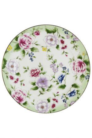 Набор из 2-х десертных тарелок Colombo. Цвет: мультиколор
