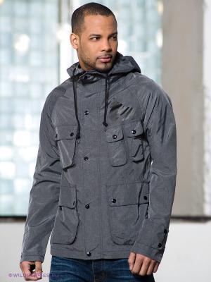 Куртка Money. Цвет: серый