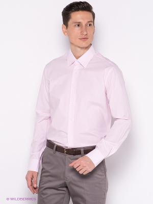 Рубашка INCITY. Цвет: бледно-розовый