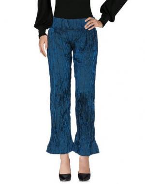 Повседневные брюки MARTINA SPETLOVA. Цвет: цвет морской волны