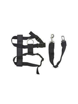 Wahl  ремень безопасности для собаки S/M. Цвет: черный